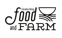 Columbia Valley Food and Farm Logo